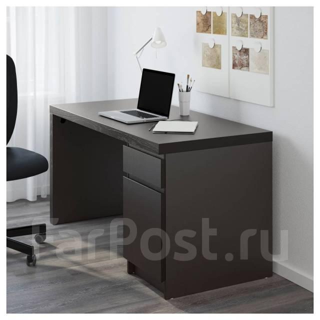 Компьютерные и письменные столы икеа : каталог, фото, описание мебели
