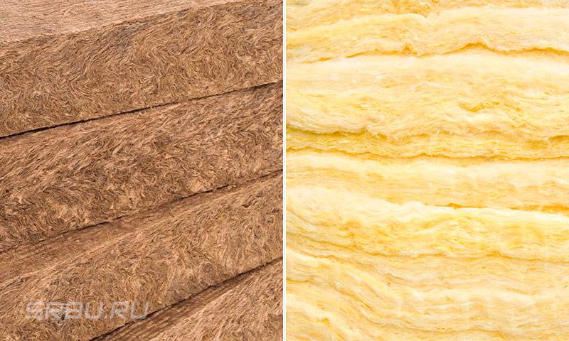 Каменная вата — технические характеристики