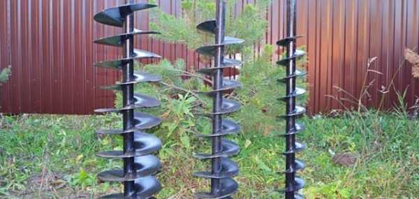 Рекомендации по изготовлению ручного шнекового бура для столбов: необходимые материалы, сборка своими руками