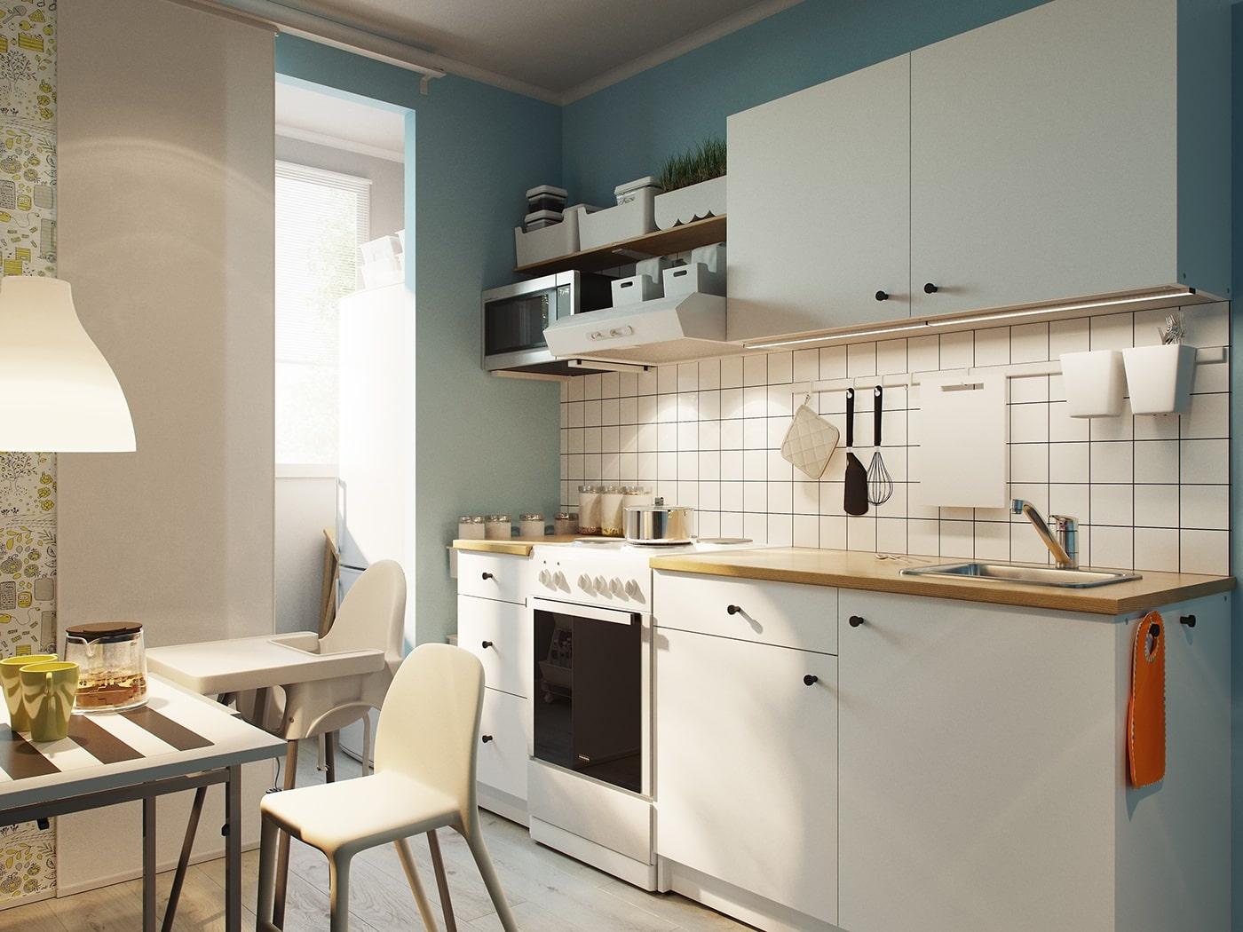 икеа кухни готовые решения