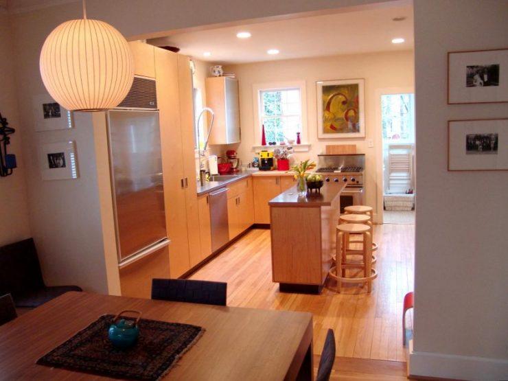 Дизайн кухни-столовой: интересные решения, красивые варианты оформления и правила применения стиля (85 фото + видео)