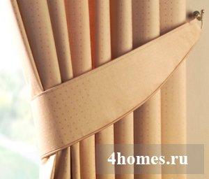 Подхваты для штор своими руками: 50 красивых примеров и стильных идей
