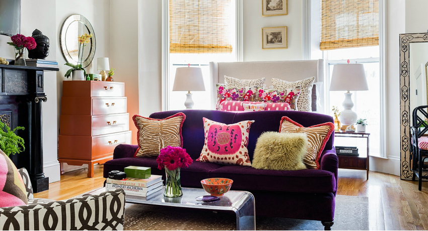 Лавандовый цвет в интерьере: создаем нежный и сочный дизайн | дом мечты