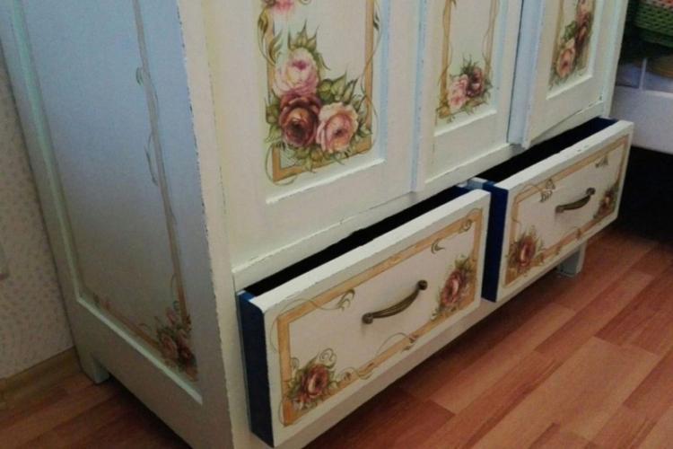реставрация шкафа своими руками