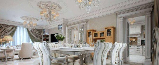 Освещение кухни-гостинной: как разделить и зонировать студию