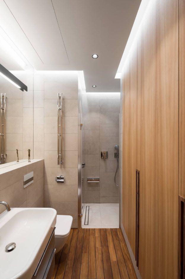 Чем отделать стены в ванной комнате кроме плитки? 65 фото: варианты дизайна. обои и другие материалы для отделки. чем можно обшить пол и стены вместо плитки?