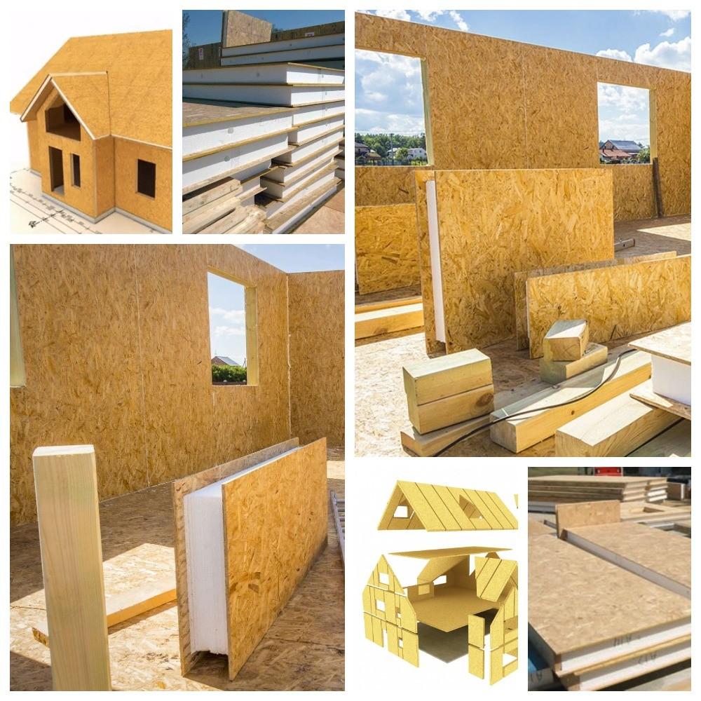 Дачный домик из сип панелей — комфорт и уют по доступной цене