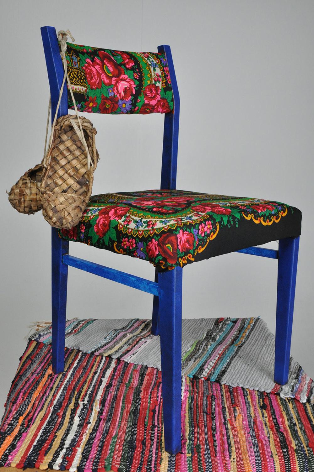 Как перетянуть стул своими руками пошагово