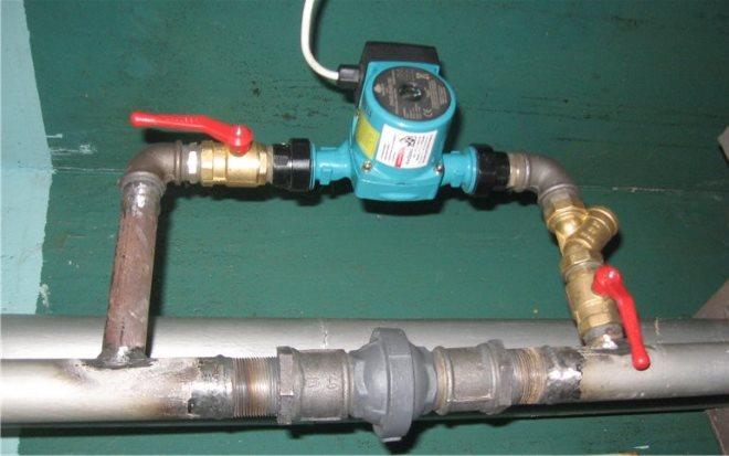 Порядок установки циркуляционного насоса в систему отопления