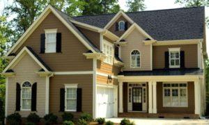 Какой цвет выбрать для фасада дома
