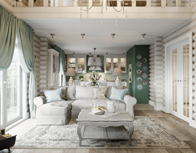 дизайн квартиры в стиле прованс