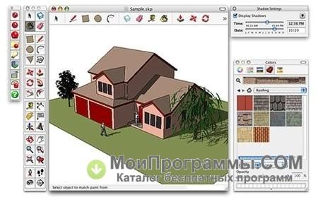 скетчап онлайн на русском работать