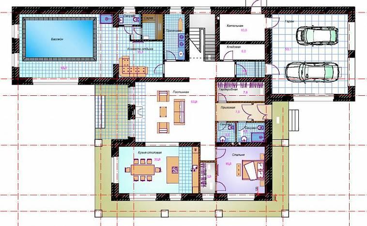 Нормы и правила планировки частного дома или коттеджа