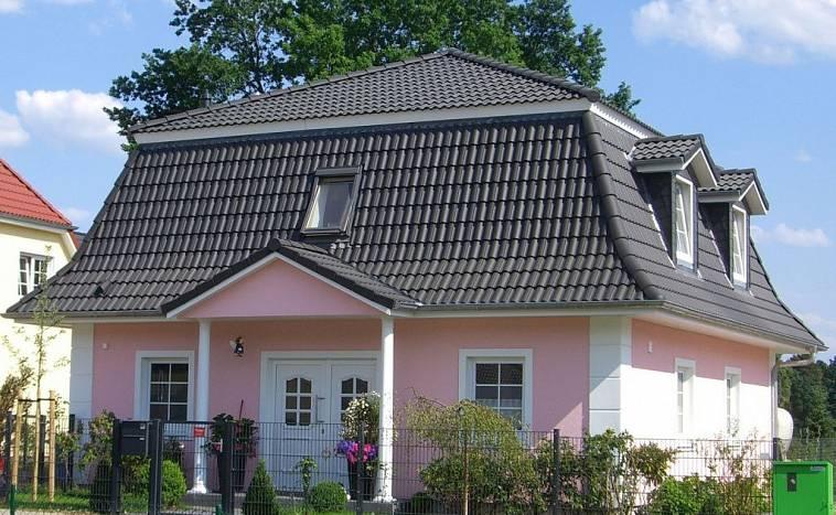 Крыша дома синего цвета: 100+ фото лучших вариантов