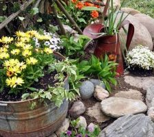 Оформление садового участка: секреты обустройства доступными средствами