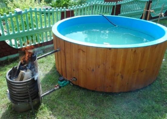 Как нагреть воду в каркасном бассейне: можно ли быстро подогреть на улице, как сделать уличный нагрев своими руками на даче, особенности организации для глубоких