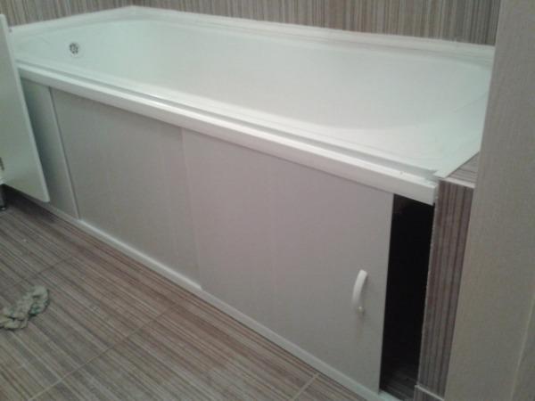 экран под ванной