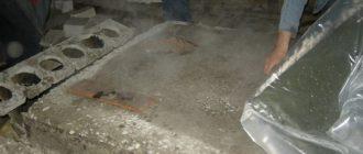 Время схватывания бетона: данные таблицы