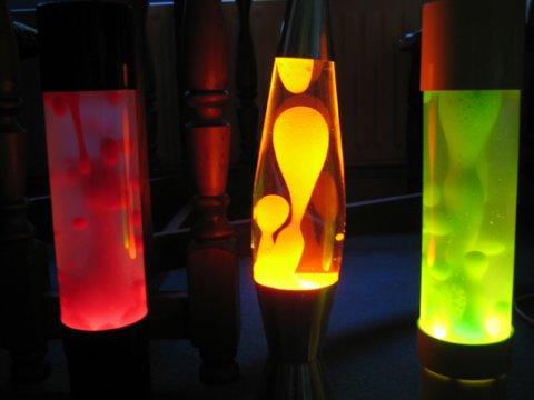 Лампа с пузырьками: как называется, варианты светильников