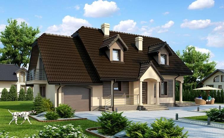 красивые дома с проектами