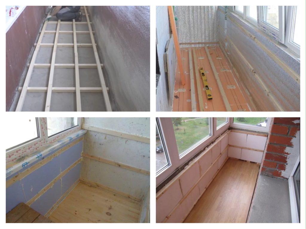 отделка балкона мдф панелями фото