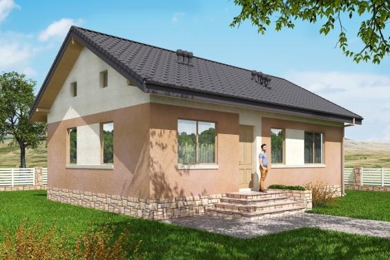 Проекты одноэтажных домов с гаражом для авто и самыми удобными планировками – советы по ремонту