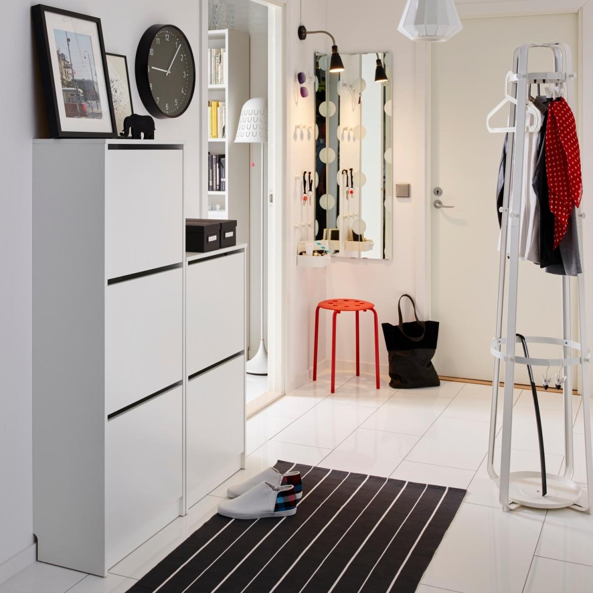 Прихожая икеа - 55 фото лучшей мебели в интерьере от ikea
