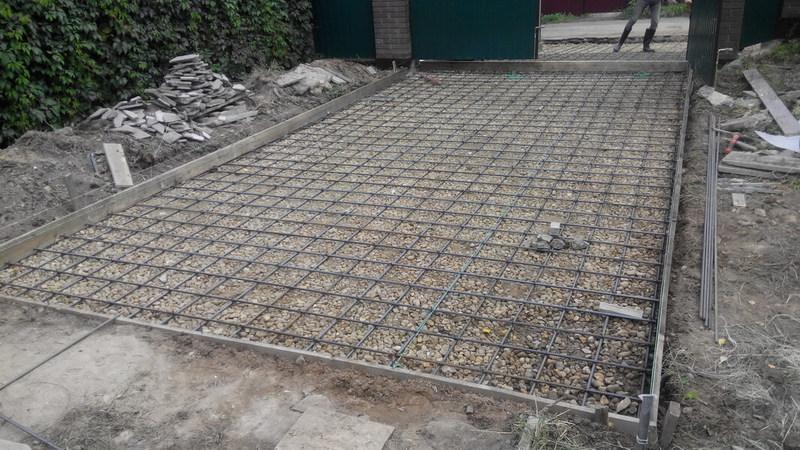 Бетонирование двора своими руками: этапы и нюансы заливки бетона