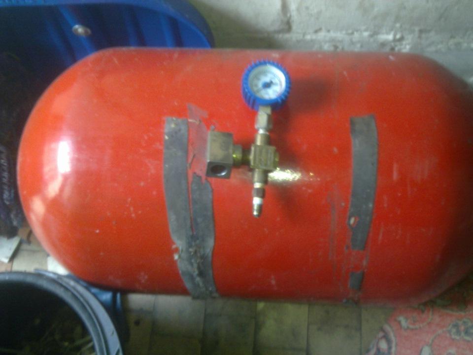 сколько литров в газовом баллоне