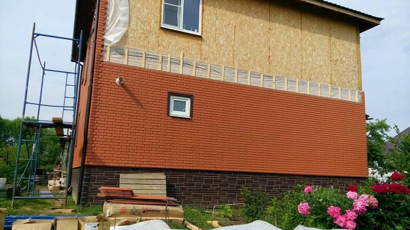 Чем покрасить осб плиту снаружи на фасаде: штукатурка и отделка сайдингом