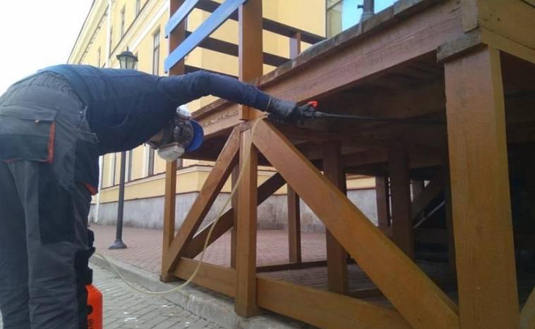 Огнезащита древесины и деревянных конструкций | огнезащита 24.рф
