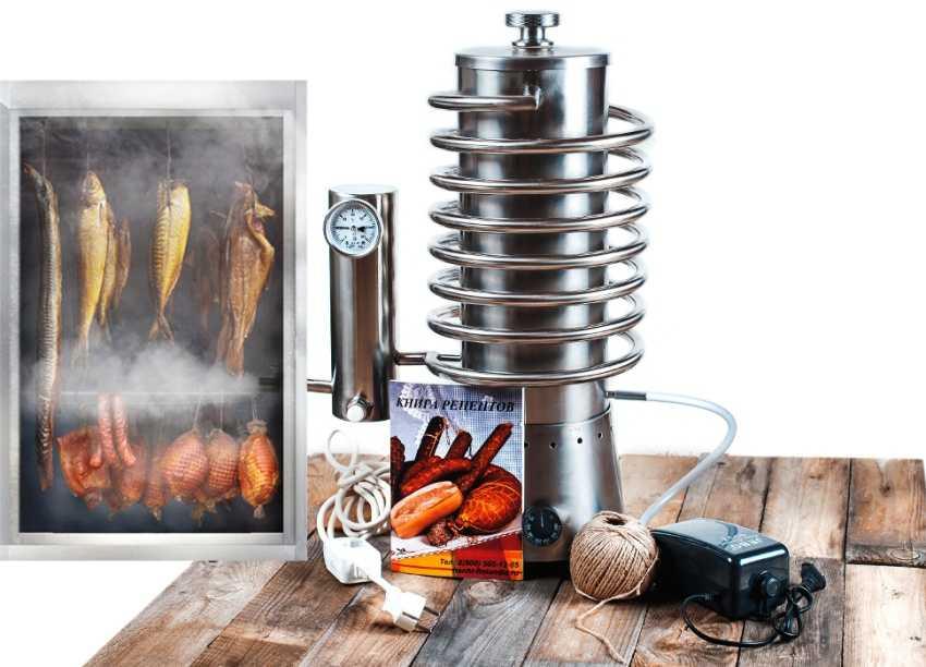 Простой дымогенератор для холодного копчения своими руками: чертежи и полезные советы
