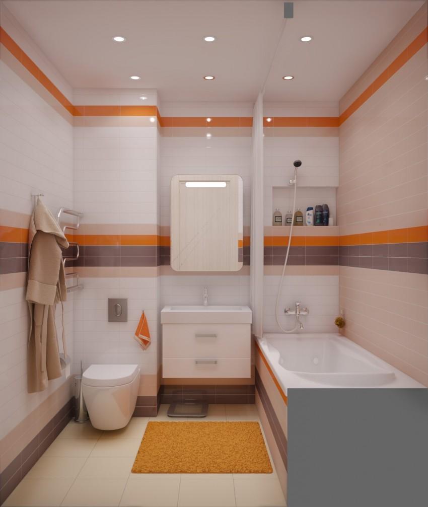 80 идей дизайна ванной комнаты 4 м2 (фото)