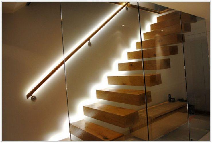 Подсветка лестницы и ступеней в частном доме: выбор светильника, монтаж и подключение