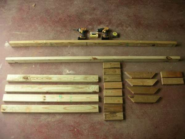подставка для дров своими руками