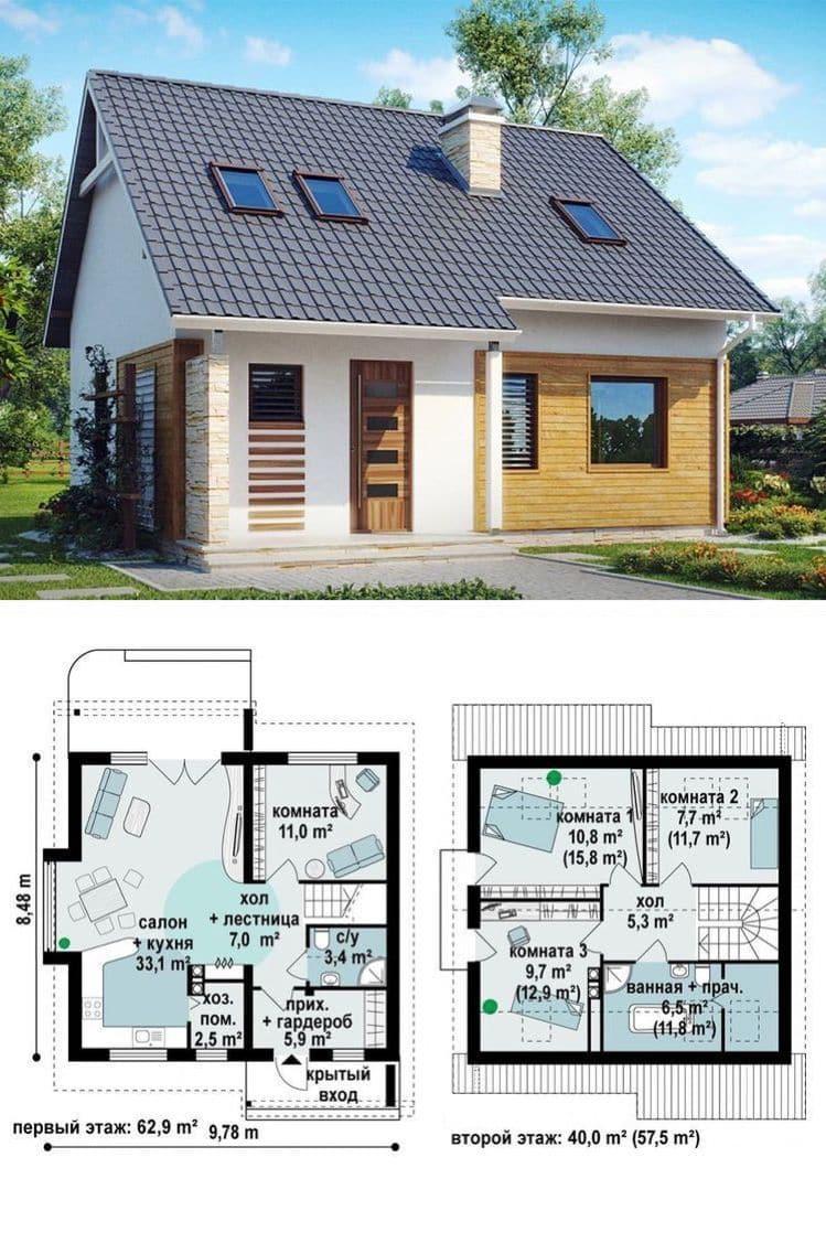 Дачные домики (113 фото): примеры садовых домов и летних дач. готовые современные, мобильные из сэндвич-панелей и двухэтажные варианты. необычные домики и в скандинавском стиле