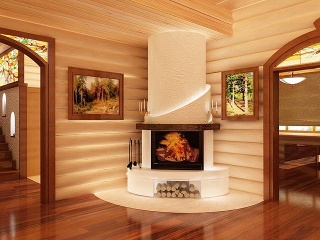 чем отделать деревянный дом внутри