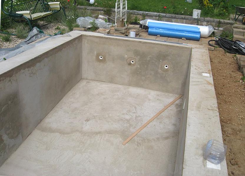 Бассейн из бетона своими руками: подробная инструкция с фото и видео   housedb.ru