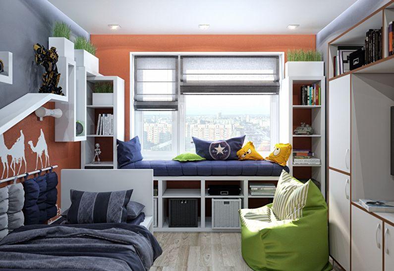 Дизайн маленькой детской комнаты +75 фото идей интерьера
