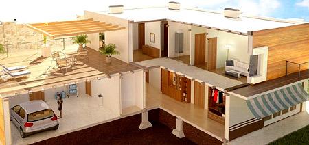 Коттеджи  дома из из железобетонных панелей | купить жби комплект | цена в ростове-на-дону