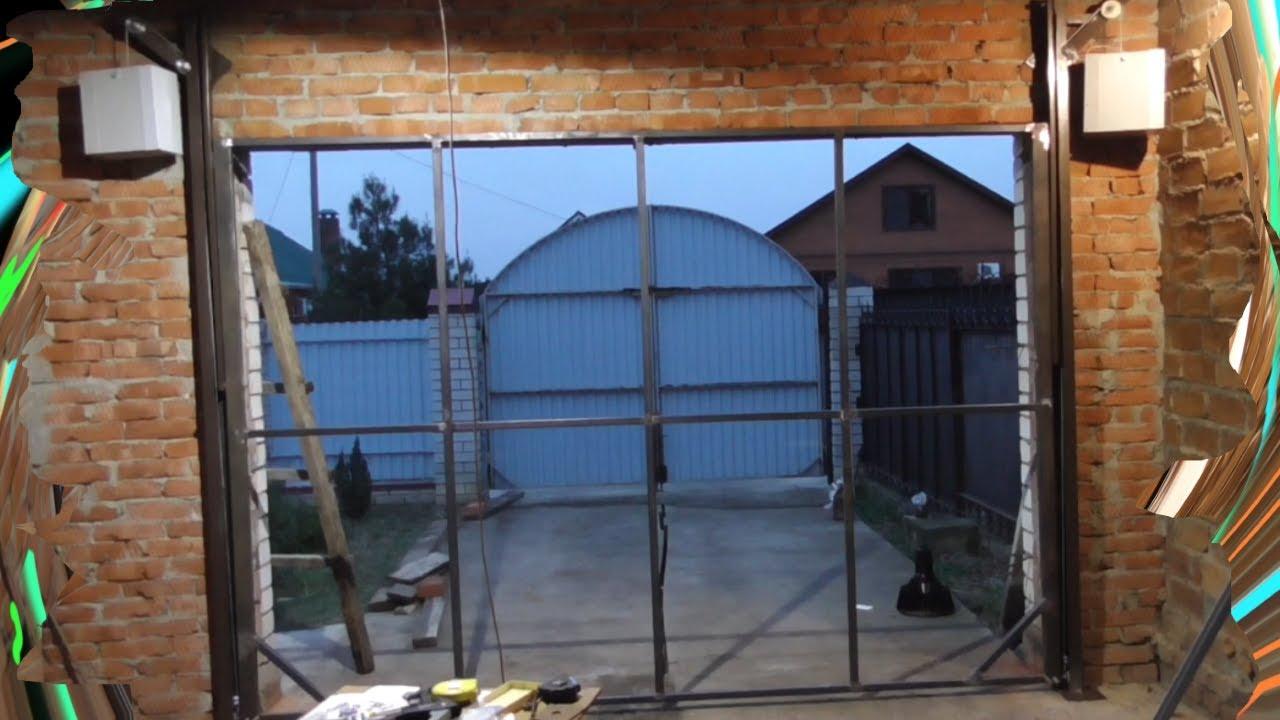 поднимающиеся ворота для гаража