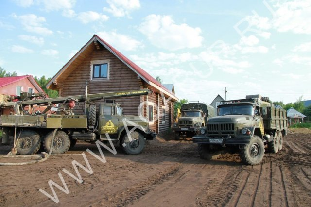 ➣ бурение скважин на даче под ключ по цене от 2000 рублей