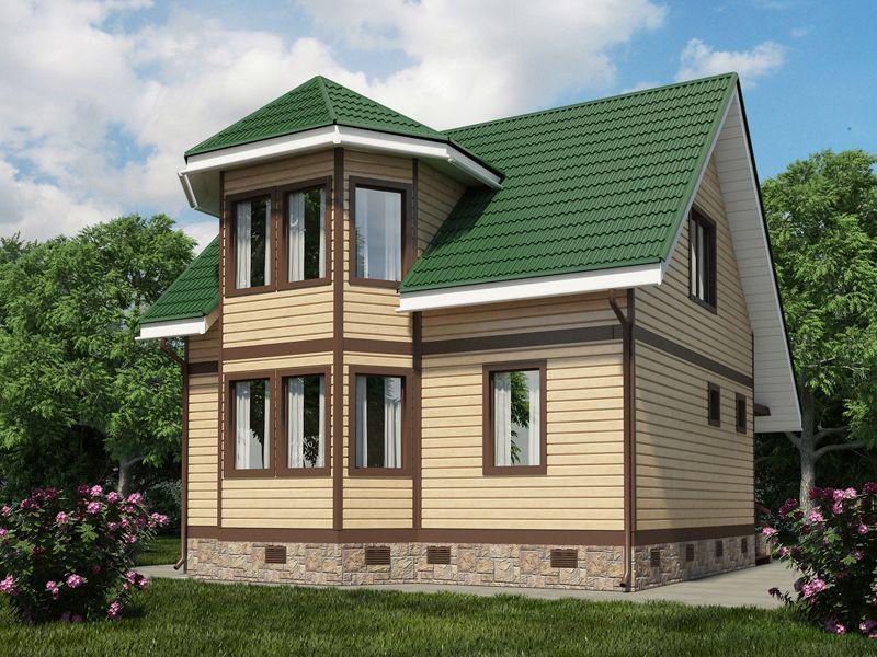 планировка одноэтажного дома 7 на 9