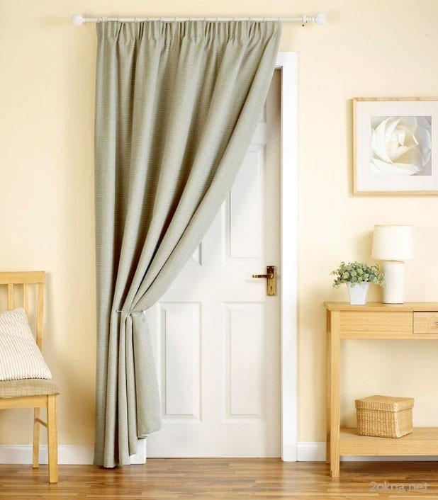 Бамбуковые шторы на дверной проем: 80 стильных идей