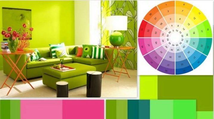 Оливковый цвет в интерьере: возможности использования и удачные сочетания