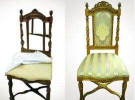 Перетяжка стульев в москве