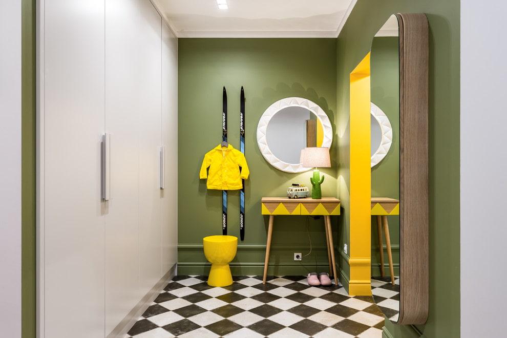 100 вариантов отделки стен прихожей и коридоре: фото