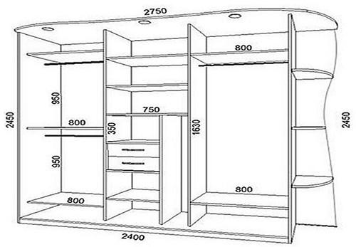 Конструктор выдвижных мебельных ящиков