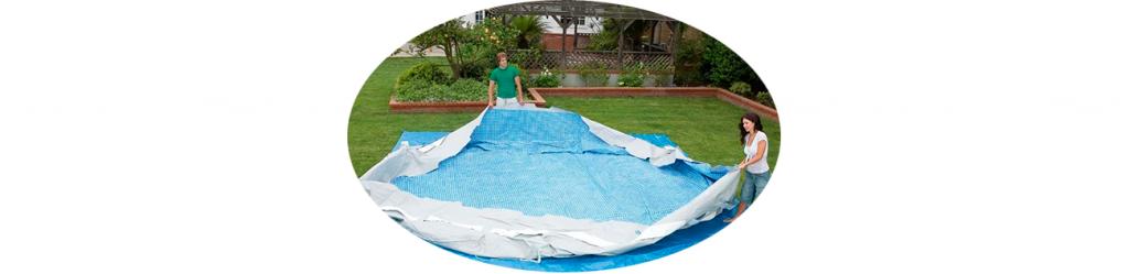 Как слить воду из бассейна intex?
