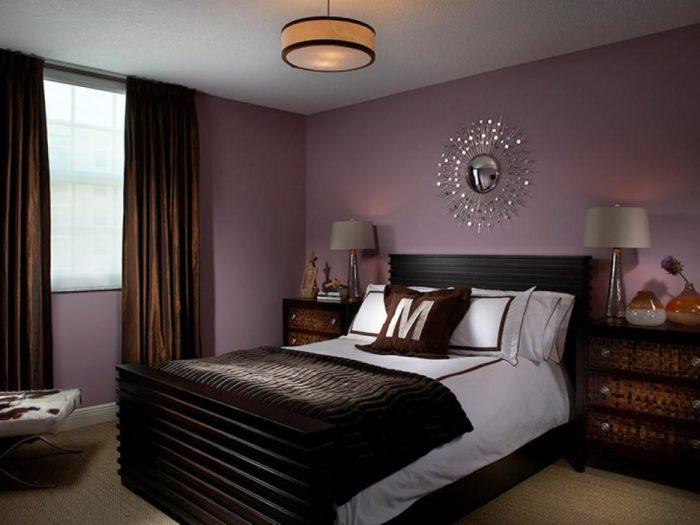 Как красиво покрасить стены в спальне своей